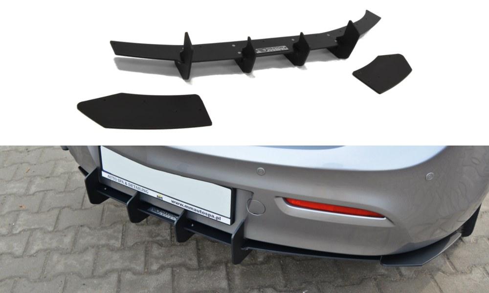 Dyfuzor Tylny i Splittery Tylne Boczne Mazda 3 MK2 Sport Przedlift - GRUBYGARAGE - Sklep Tuningowy